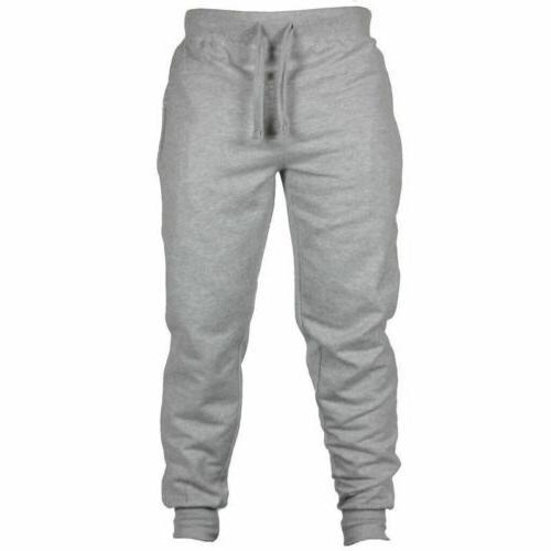 Men's Pants Long Trousers Tracksuit Fitness Joggers Sweatpants
