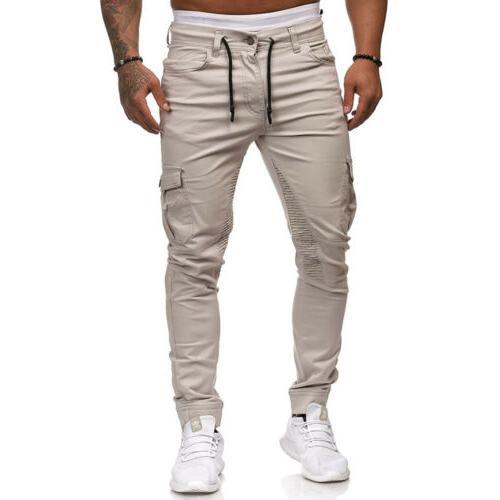 Men's Sport Pants Trousers Tracksuit Fitness