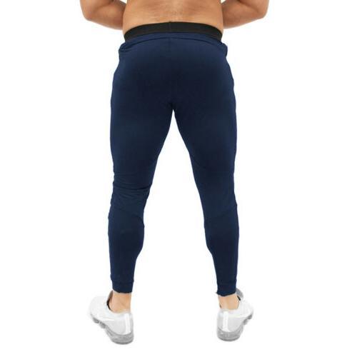 Men's Sports Pants Long Trousers Training Workout Joggers Gym