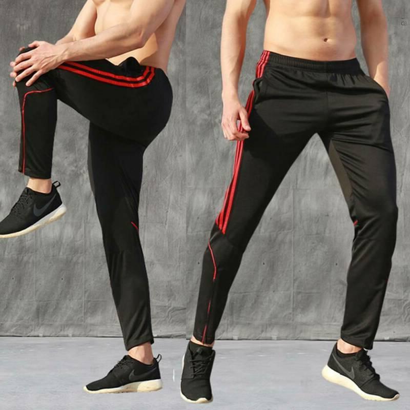 Men's Track Pants Training Zipper Joggers