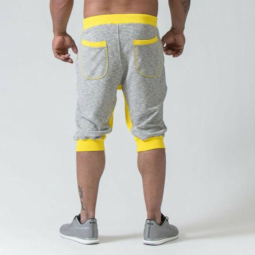 Men's Jogging Casual Sport Gym Shorts Sweatpants