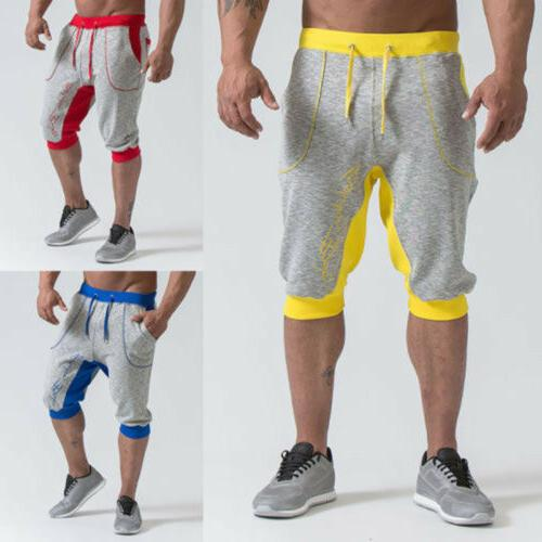 Men's Summer Casual Gym Shorts Sweatpants