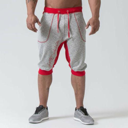Men's Summer Pants Casual Trousers Fitness Gym Shorts