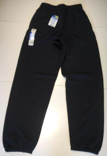 Fruit Men's Sweatpants Small Black NWT