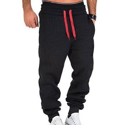 Men's Sport Gym Loose Fit Pants Workout Trousers