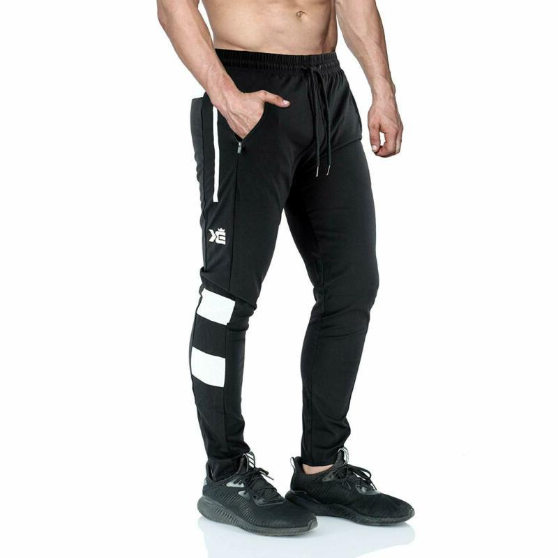 BROKIG Vapour Jogger Fit Workout Running with Zi