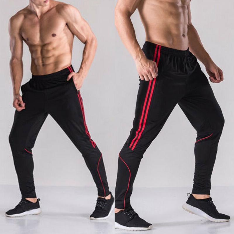 Men Sport Pants Trousers Tracksuit Joggers Gym