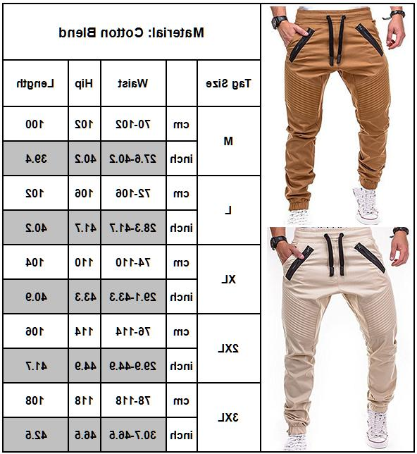 Men Trousers Sweatpants Harem