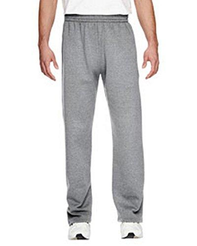 Fruit the mens 7.2 Open-Bottom Pocket Sweatpants-J