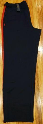Polo Ralph Lauren Mens Big & Tall Sweatpants Zip Pockets Nav
