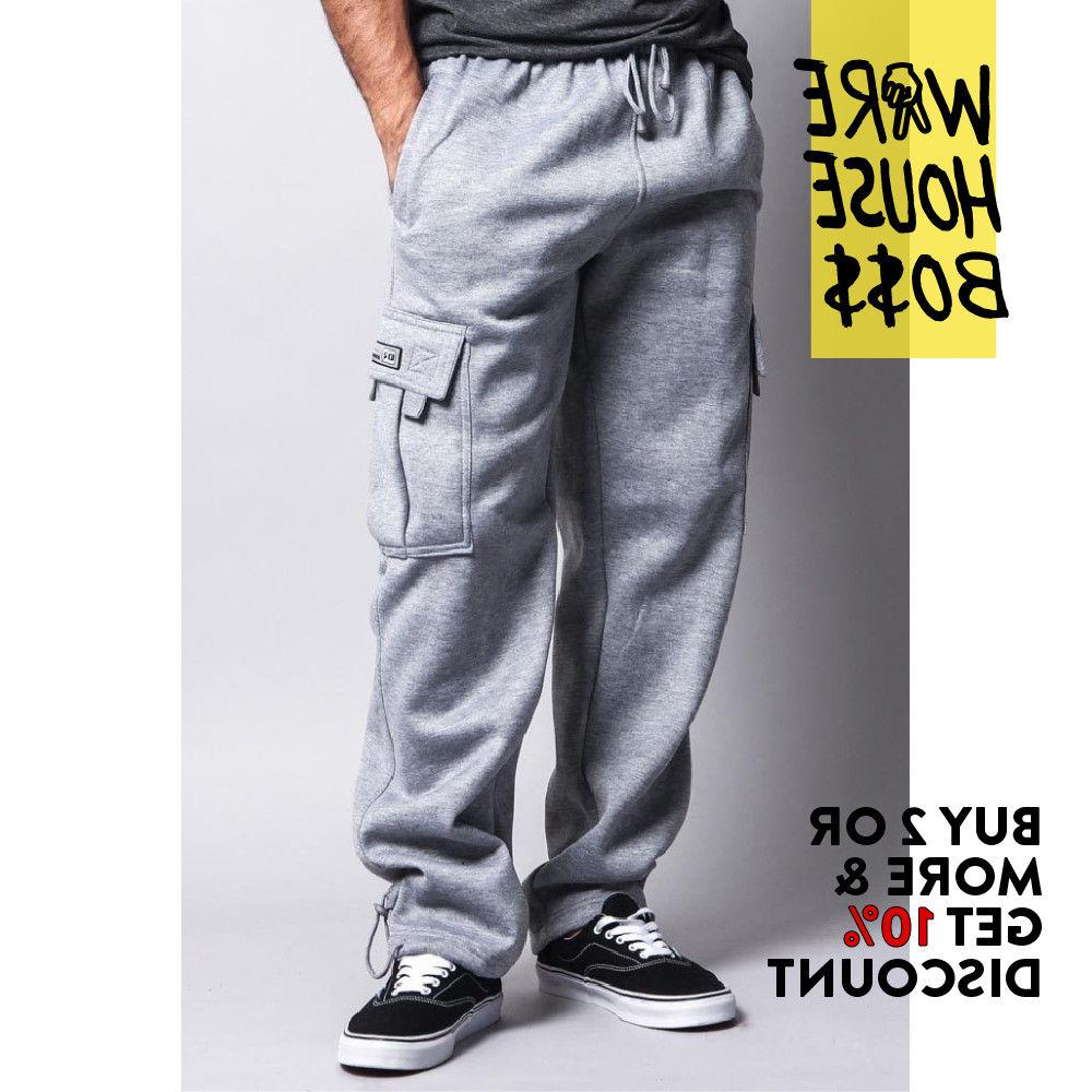 DR MENS PLAIN 5 POCKET CARGO HEAVYWEIGHT JOGGER HOP