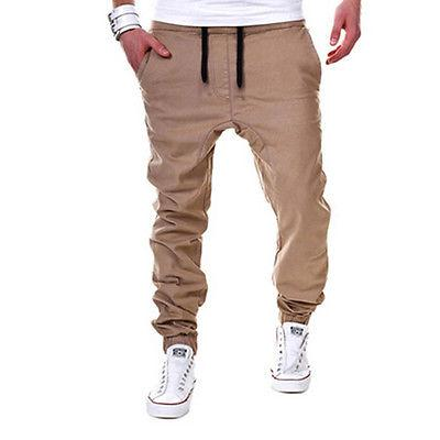 Men's Sport Tracksuit Gym Joggers Sweatpants Trousers