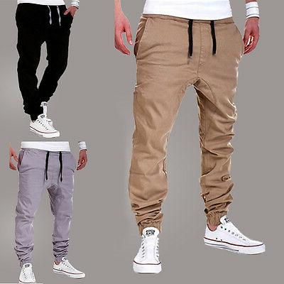 Men's Gym Joggers Sweatpants Trousers