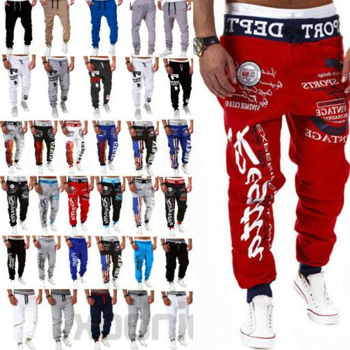 Mens Casual Baggy Running Tracksuit