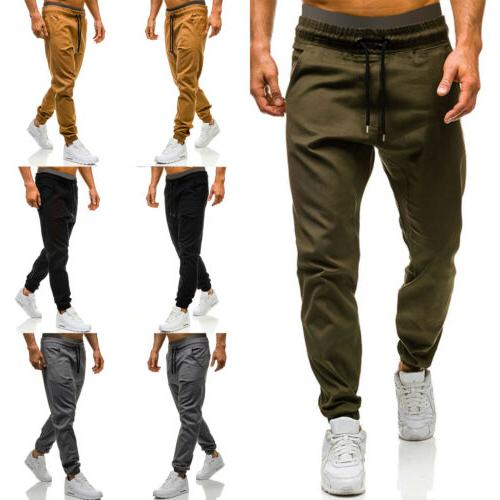 Men Cargo Sports Jogging Harem