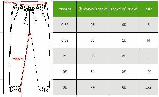 Mens Jogger Slim Pockets Casual Sweatpants NWT
