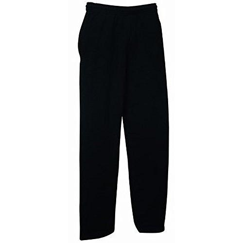 mens open hem jog pants jogging bottoms
