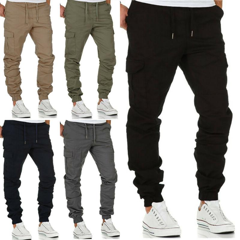 Mens Pants Sport Gym Trousers Casual