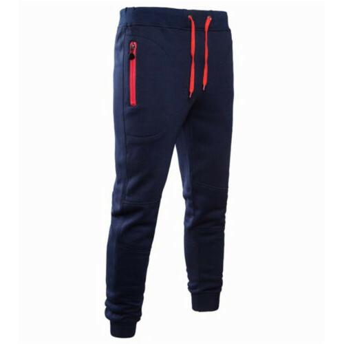 Mens Pants Trousers Workout Joggers
