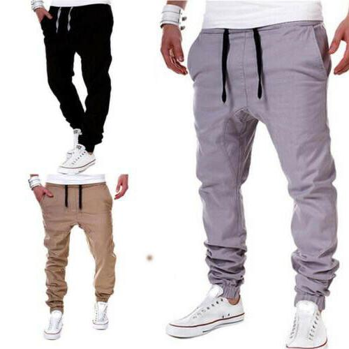 Mens Pants Long Trousers Workout