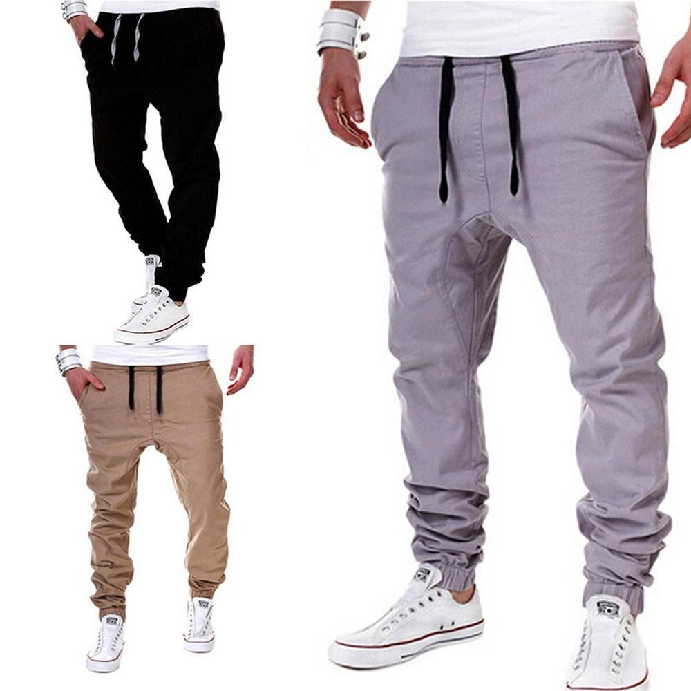 Mens Sport Trousers Gym Fitness Workout Joggers