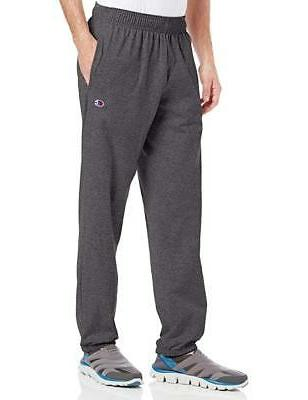 Champion Mens Sweat-pants Closed Bottom Light W pockets