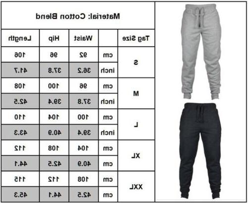 Mens Fit Workout Pants Sport Gym