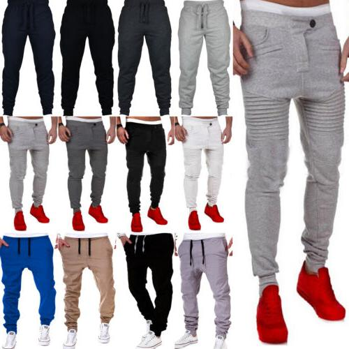 Mens Sweatpants Casual Slim Fit Pants Sport Gym