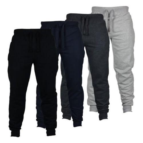 Mens Sweatpants Fit Pants Sport