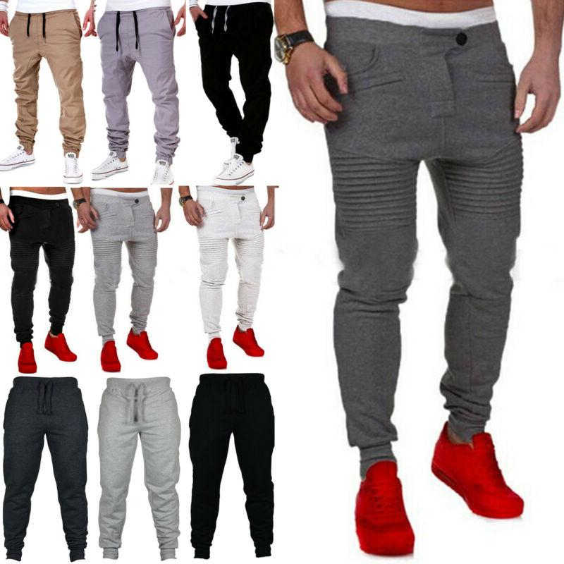 mens sweatpants casual slim fit workout jogger