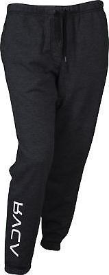 RVCA Mens VA Sport VA Guard Fleece Sweatpants Joggers - Blac