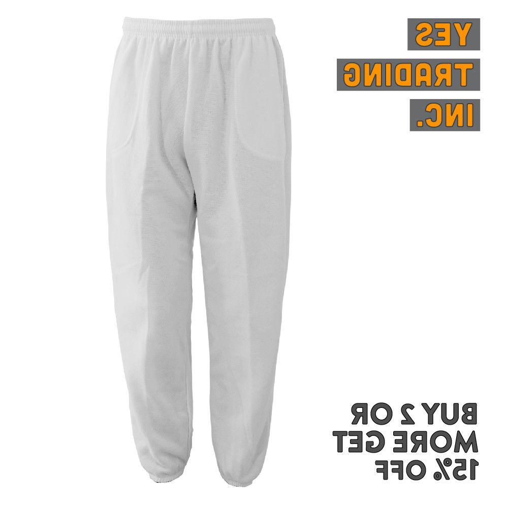MENS PLAIN FLEECE HOUSE PANTS YOGA