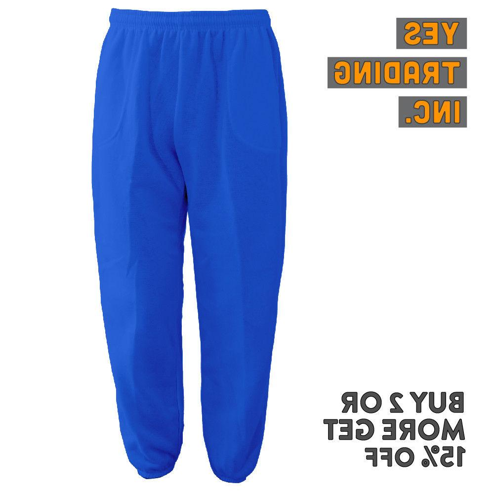MENS PLAIN FLEECE HOUSE PANTS