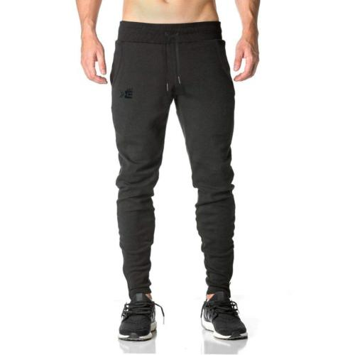 BROKIG Mens Zip Gym Joggers Sweatpants Tracksuit Jogging Bottoms