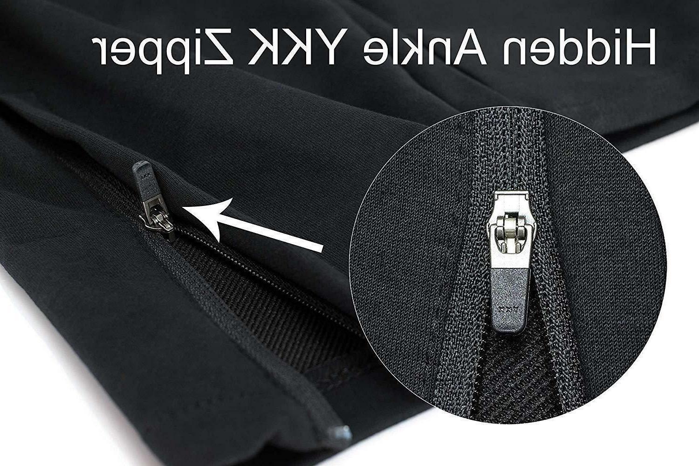BROKIG Mens Zip Comfortable with Pockets