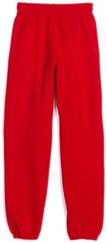 MJ Soffe Big Boys' Sweatpant, Red, Medium