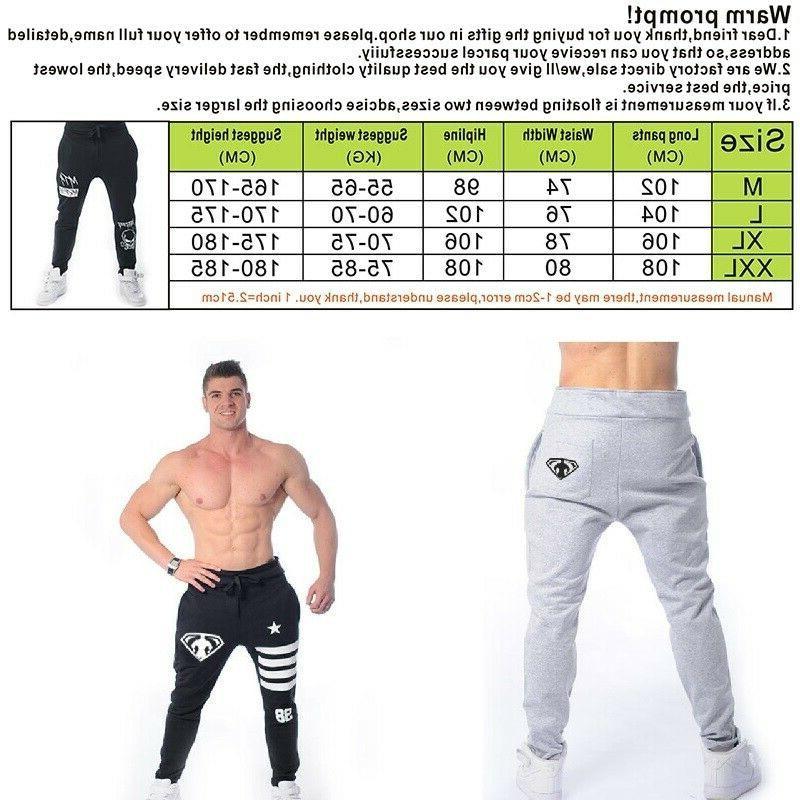 Monsta Clothing Pants Men Fitness Cuffed Workout Running