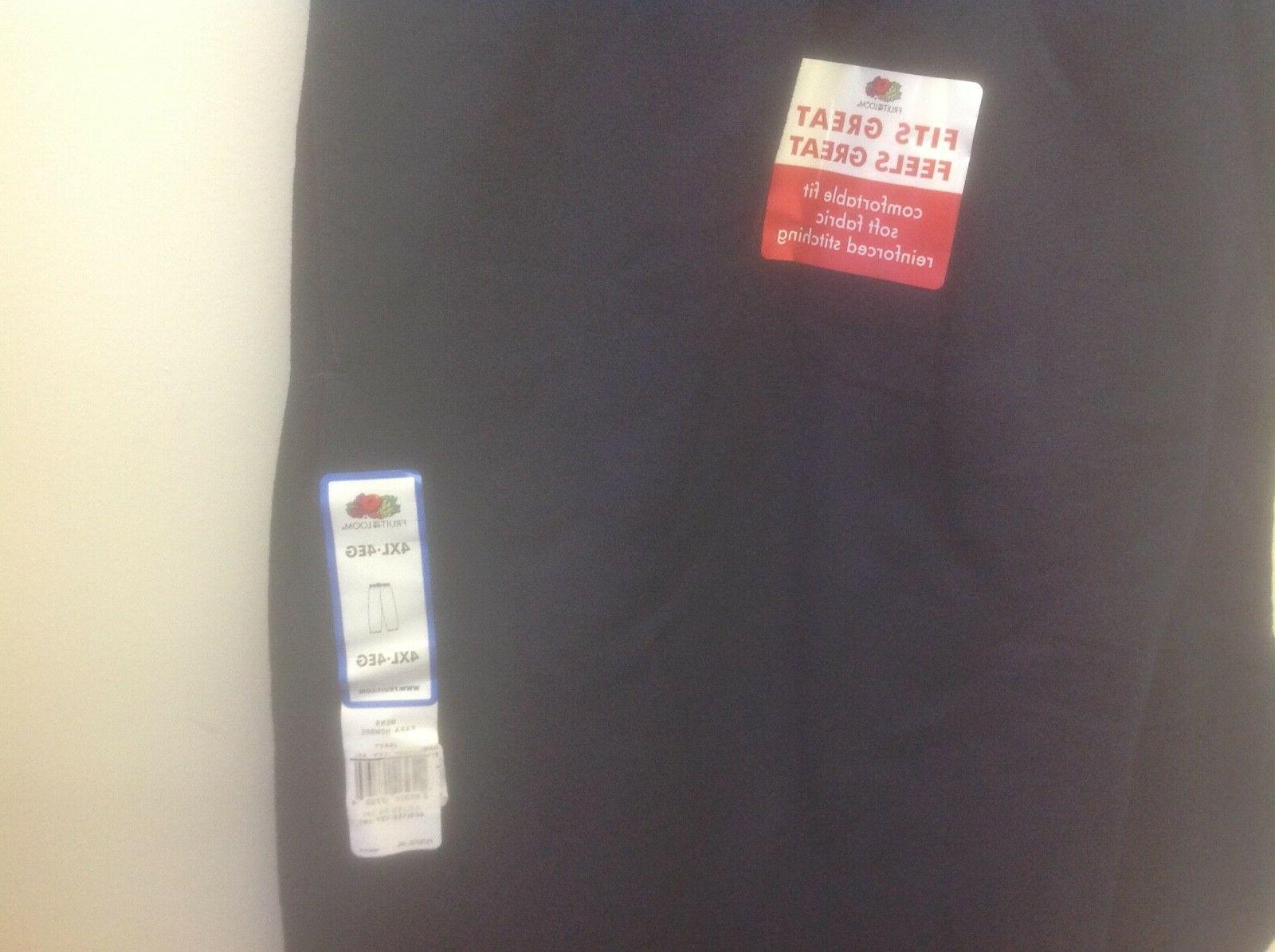 Fruit of the loom NAVY 4xl new