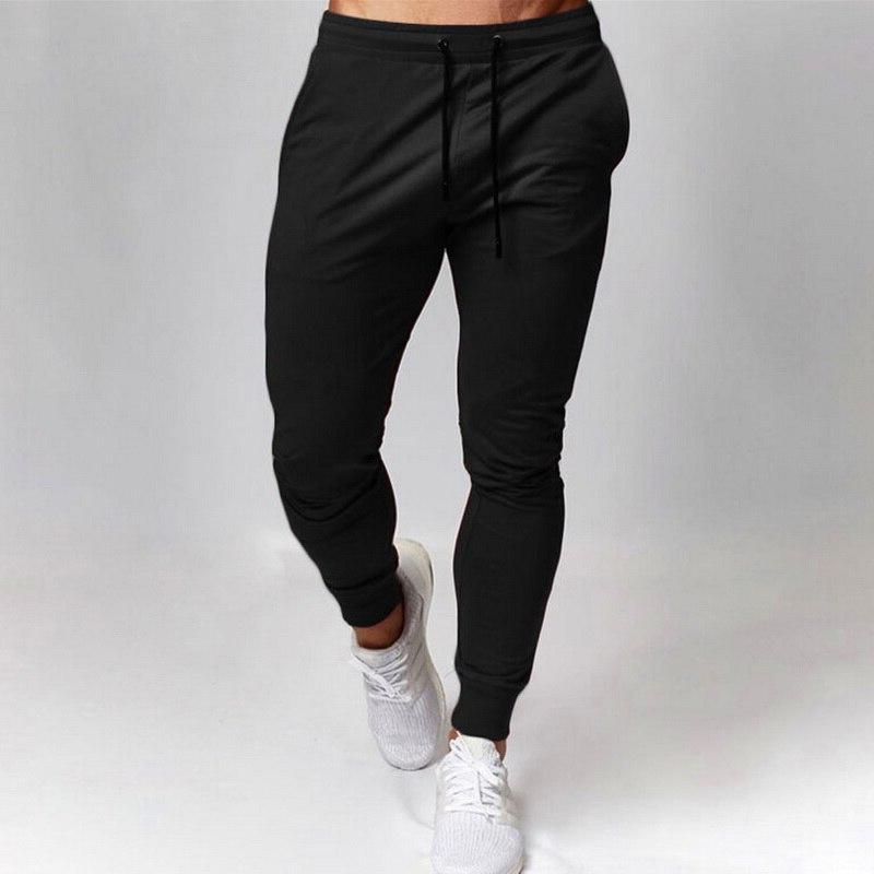 New Joggers <font><b>Men</b></font> Gyms <font><b>Men's</b></font> Trousers Clothing Bodybuilding