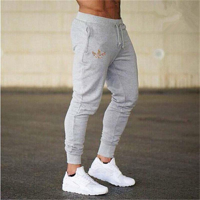 New Print Gyms Men Joggers Casual Men <font><b>Sweatpants</b></font> Joggers Pantalon Homme Trousers Sporting Bodybuilding Pants