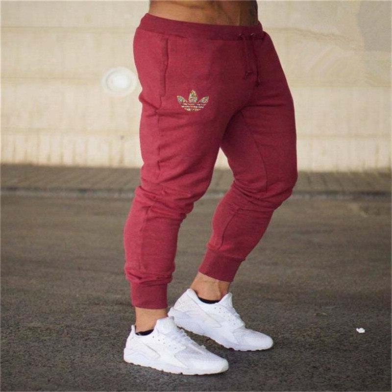 New logo Gyms Men Joggers Men <font><b>Sweatpants</b></font> Joggers Pantalon Homme Clothing Bodybuilding Pants