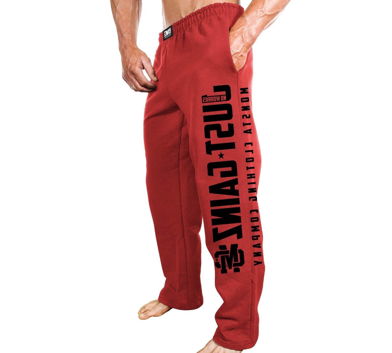 New Men's Fitness Gym Sweatpants Just