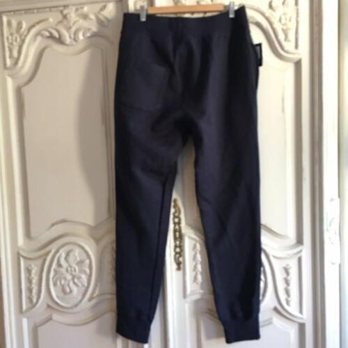 NEW Champion Sweatpants Logo Size Blue