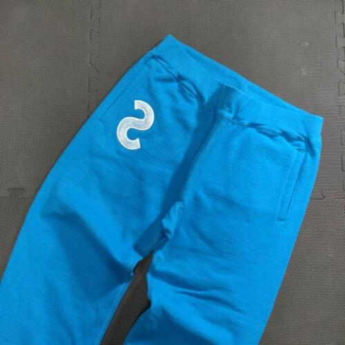 NEW Joggers Blue White 100%