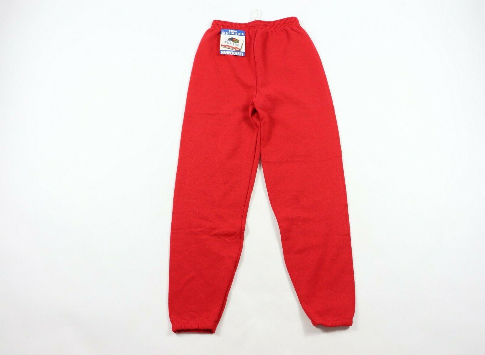 new vtg 90s mens small fleecewear blank