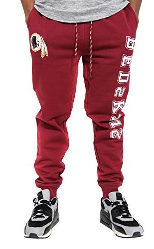 nfl washington redskins jogger pants