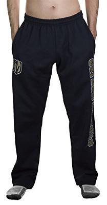 NHL Men's Premium Fleece Official Team Sweatpants- Detroit R