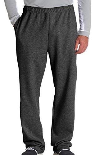 nublend open bottom sweatpants
