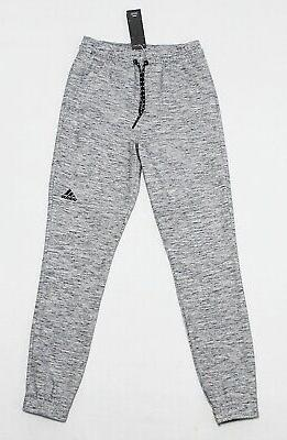 NWT ADIDAS Black-White Cuffed Men/'s Track Pocket Pants X-Large sweatpants jogger