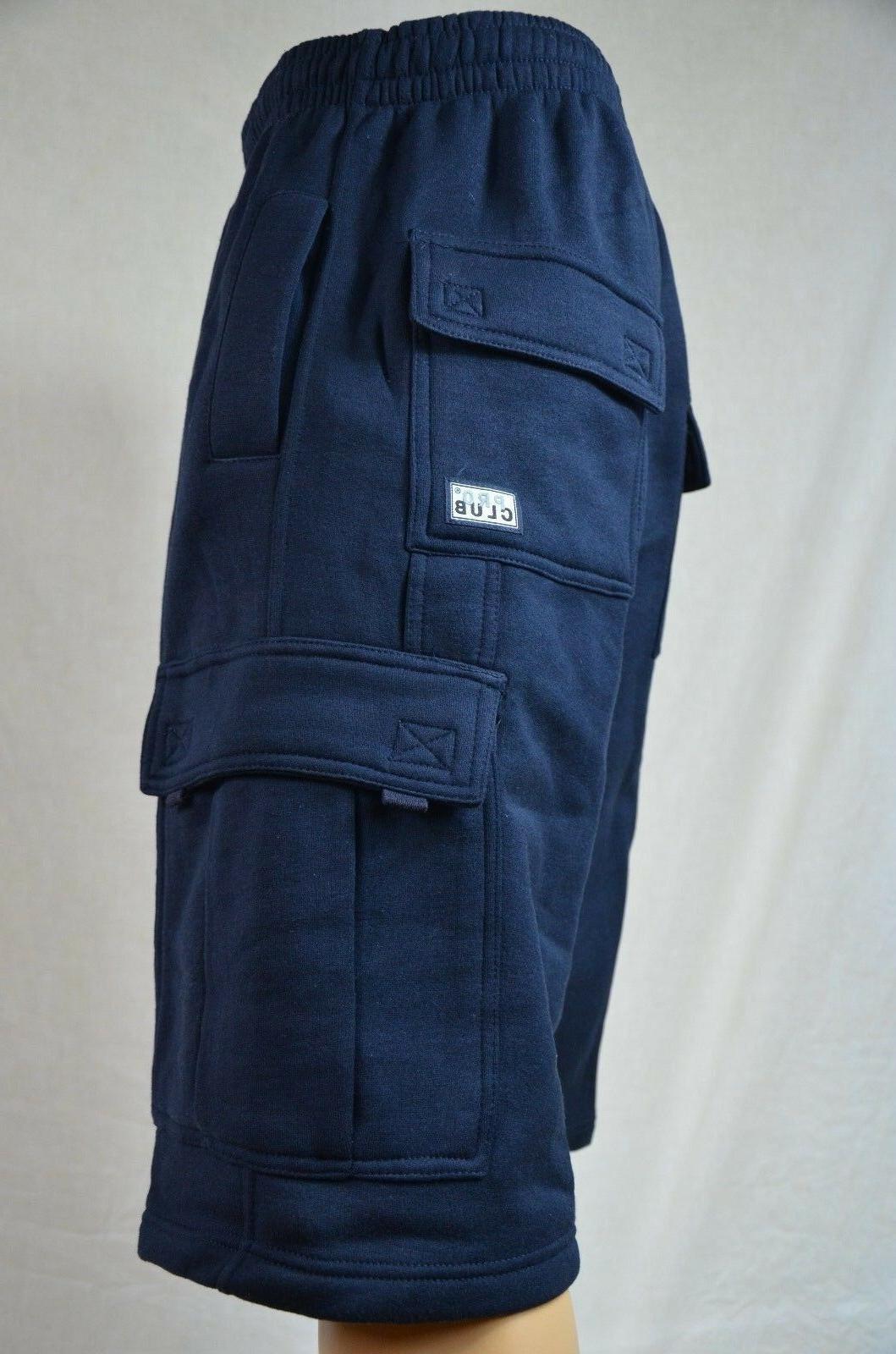 NWT Pro Club Weight Fleece Cargo Mens